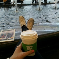 Photo taken at Starbucks by Esra K. on 4/6/2013