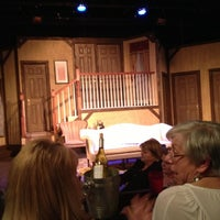 Photo taken at Pocket Sandwich Theatre by Mark J. on 3/9/2013