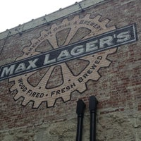 Photo taken at Max Lager's Wood-Fired Grill & Brewery by Kallie M. on 7/9/2013