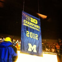 Photo taken at Crisler Center by Aaron R. on 11/28/2012