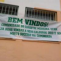 Photo taken at UFAM - Faculdade de Medicina by Ticiano .. on 12/10/2012