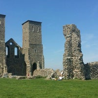 Photo taken at Reculver Towers and Roman Fort by Matthew F. on 5/8/2016