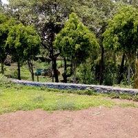 Photo taken at Parque Ecologico Huayamilpas by Nancy C. on 7/2/2013