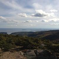 Photo taken at Dorr Mountain by Keith C. on 10/8/2012