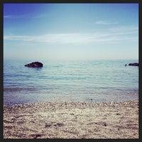 Photo taken at Playa De Benalnatura by Antonio R. on 5/2/2014