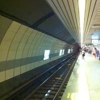 Photo taken at Şişli - Mecidiyeköy Metro İstasyonu by Onur C. on 5/19/2012