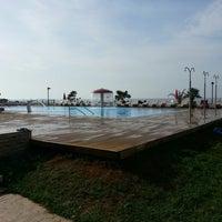 Photo taken at Beach Hotel Otrant by Blendi K. on 5/5/2013