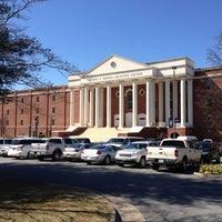 Photo taken at DeMoss Hall by Warren C. on 3/9/2013