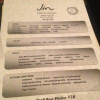 Photo taken at Jin Restaurant by Amanda on 2/9/2013