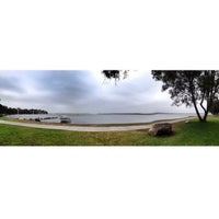 Photo taken at BIG4 Monterey Tourist Park Cabins Lake Macquarie by Loraine G. on 12/29/2013