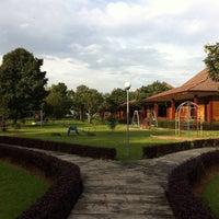 Photo taken at Kebun Wisata Pasir Mukti by Kunnang K. on 12/30/2014