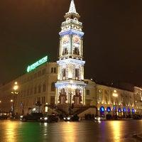 Photo taken at metro Gostiny Dvor by Anastasia D. on 12/27/2012
