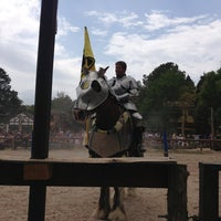 Photo taken at Sherwood Forest Faire by Travis on 3/31/2013