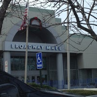 Photo taken at Broadway Mall by Wendy M. on 11/30/2012