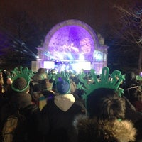 Photo taken at Naumburg Bandshell by Wan-Ling T. on 1/1/2013
