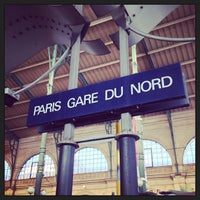 Photo taken at Gare SNCF de Paris Nord by BoBpp on 7/6/2013