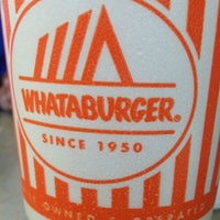 Photo taken at Whataburger by Rudy R. on 7/14/2014