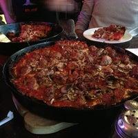 Photo taken at Pequod's Pizzeria by Michaelangelo S. on 2/22/2013