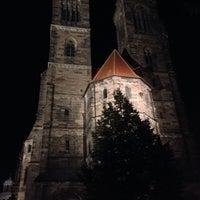 Photo taken at St. Sebald by Giuseppe B. on 9/26/2013