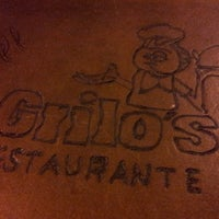 Photo taken at Grilo's Restaurante by Rodrigo B. on 4/23/2013
