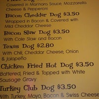 Photo taken at Zack's Hotdogs & Hot Sandwiches by Michael J. on 11/13/2012