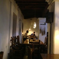 Photo taken at Casa María Lombardo Restaurant by Luis Felipe S. on 2/5/2013