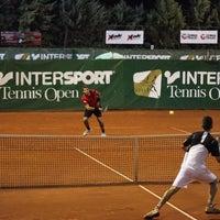 Photo taken at Filothei Tennis Club by Epameinodas G. on 6/23/2015