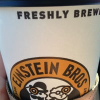Photo taken at Einstein Bros Bagels by Richard D. on 11/6/2012