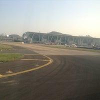Photo taken at Runway-Chennai Airport by Shriram S. on 2/27/2013