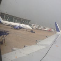 Photo taken at Runway-Chennai Airport by Shriram S. on 10/15/2013