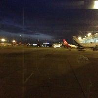 Photo taken at Runway-Chennai Airport by Shriram S. on 8/21/2013
