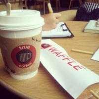 Photo taken at TrueCoffee by Thapanee T. on 11/23/2012