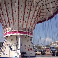 Photo taken at Luna Park by Flore B. on 4/5/2014