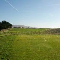 Photo taken at Half Moon Bay Golf Links by John Y. on 1/4/2013