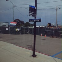 Photo taken at Palm Avenue Trolley Station by Nell G. on 3/17/2013