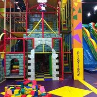 Photo taken at Chipmunks Playland & Cafe by othrie b. on 12/29/2012