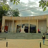 Photo taken at Parque de Bello by Juan pablo O. on 7/10/2013