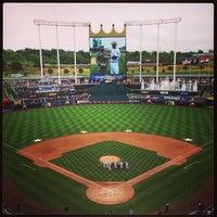Photo taken at Kauffman Stadium by Chris C. on 5/27/2013