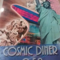 Photo taken at Cosmic Diner by Jayson M. on 10/27/2012