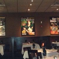 Photo taken at Brett Favre's Steakhouse by Becky R. on 5/7/2013