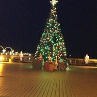 Photo taken at North Beach Boardwalk by Jennifer C. on 12/20/2012