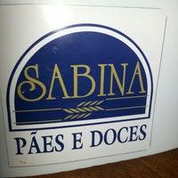 Photo taken at Sabina by Rafael S. on 2/2/2013