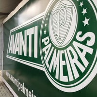 Photo taken at Sociedade Esportiva Palmeiras by Paulo Ricardo T. on 4/6/2013