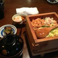 Photo taken at うなぎと和食 いとう by Tsuyoshi I. on 9/5/2013