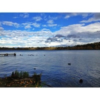 Photo taken at Idylwood Park by mrbrown on 10/29/2012