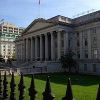 Photo taken at US Department of the Treasury by Caitlyn R. on 10/23/2012