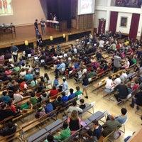 Photo taken at Epsom Girls Grammar School by John T. on 9/28/2013