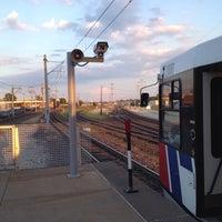 Photo taken at MetroLink - Grand Station by Mel S. on 8/30/2013
