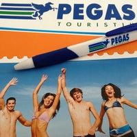 Photo taken at Pegas Touristik by Elmira B. on 7/26/2013