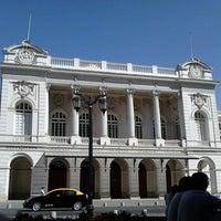 Photo taken at Teatro Municipal de Santiago by Willson R. on 3/11/2013